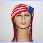 American Flag Headband Ear Warmer ~ Sara Sach – Posh Pooch Designs