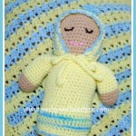 Sweet Baby Doll Stuffie ~ Sara Sach - Posh Pooch Designs