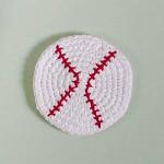 Crochet Baseball Cork Board ~ Petals to Picots