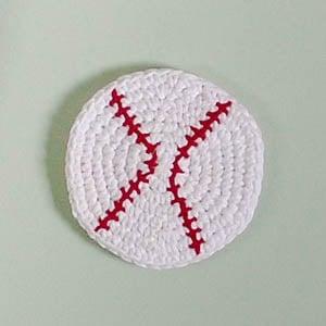 Crochet Basebal Cork Board ~ Petals to Picots