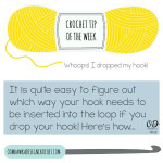 Whoops! I Dropped My Crochet Hook – Crochet Tip ~ Oombawka Design