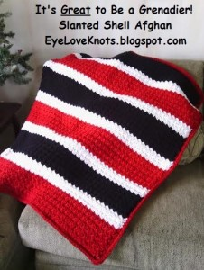 Slanted Shell Afghan ~ Alexandra Richards - EyeLoveKnots