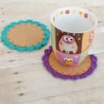 Flower Crochet Coasters ~ Petals to Picots