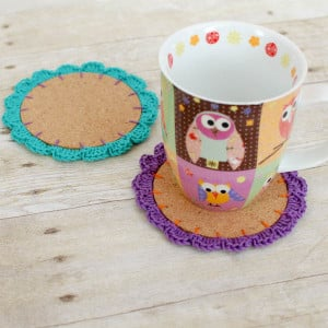 Flower Crochet Coasters ~ Petals to Picots