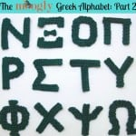 Greek Alphabet Part 2 ~ Moogly