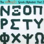 Greek Alphabet Part 2 ~ Moogly