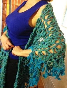 Shamrock Shawl ~ Crochet Parfait