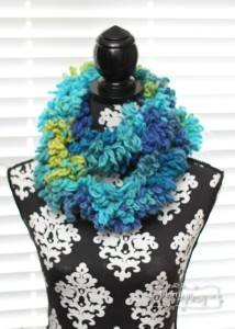 Fluffy Boa Scarf ~ Stacey Williams - My Merry Messy Life