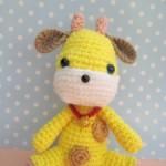 Giraffe Crochet Amigurumi ~ Jenny and Teddy