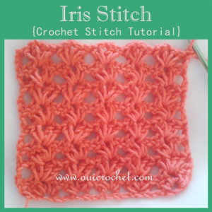 Iris Stitch ~ Oui Crochet