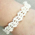 Lacy Bracelet ~ Oombawka Design