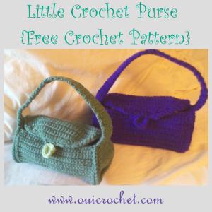 Little Crochet Purse ~ Oui Crochet