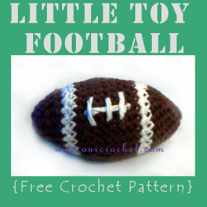 Little Toy Football ~ Oui Crochet