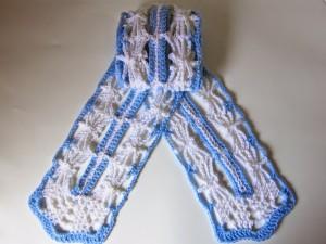 Dancing Dragonflies Scarf ~ Crochet is the Way