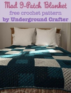 Mod 9-Patch Blanket ~ Underground Crafter