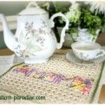 A New Dishtowel ~ Pattern Paradise