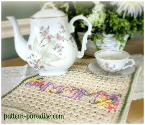 A New Dishtowel ~ Pattern Paradise