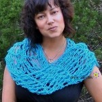 Penelope's Flirty Scarf ~ Celina Lace – Simply Collectible
