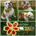 Pin Flower Applique ~ Manda Proell – MandaLynn's Crochet Treasures