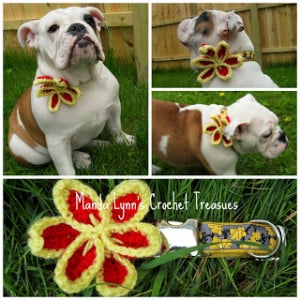 Pin Flower Applique ~ Manda Proell - MandaLynn's Crochet Treasures
