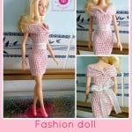 Fashion Doll Off the Shoulder Dress ~ Maz Kwok's Designs