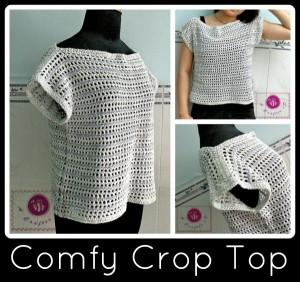 Comfy Crop Top ~ Maz Kwok's Designs