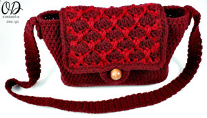 Simple Crochet Purse ~ Oombawka Design
