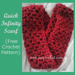 Quick Infinity Scarf ~ Oui Crochet