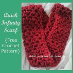 Quick Infinity Scarf ~ Oui Crochet