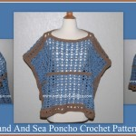 Sand and Sea Poncho by Posh Pooch Designs.