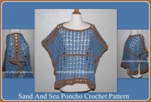 Sand and Sea Poncho ~ Sara Sach - Posh Pooch Designs