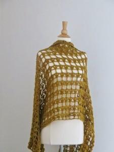 Aida Lacy Shawl ~ Crochet Dreamz