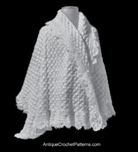 Crochet Shawl ~ Antique Crochet Patterns