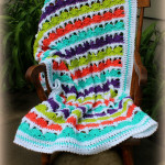 Summer Day's Baby Blanket ~ Beatrice Ryan Designs