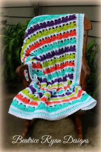 Summer Day's Baby Blanket ~ Beatrice Ryan Designs