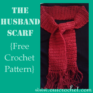 The Husband Scarf ~ Oui Crochet
