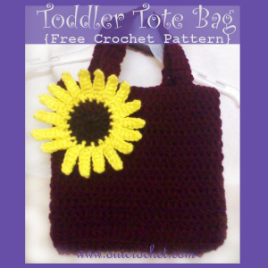 Toddler Tote Bag ~ Oui Crochet