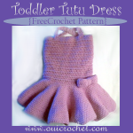 Toddler Tutu Dress ~ Oui Crochet