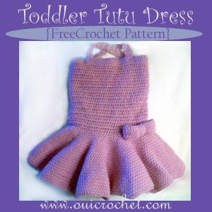 Toddler Tutu Dress ~ Oui Crochet