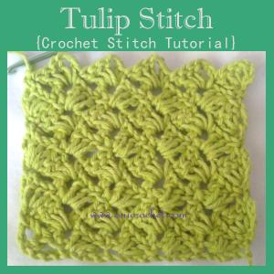Tulip Stitch ~ Oui Crochet