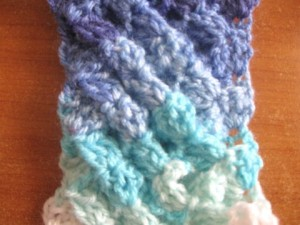 Woven Shell Stitch ~ Meladora's Creations