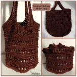 Another Bullion Stitch Bag ~ Rhelena - CrochetN'Crafts