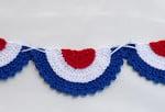 Patriotic Bunting ~ Doni Speigle Designs