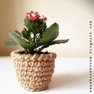 Mini Flower Pot Holder ~ Annaboo's House