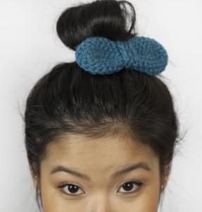 Bow Hair Clip ~ Grannysquaredontcare