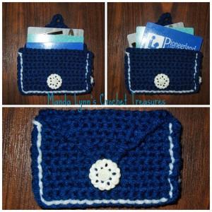 Casino Wallet for Purse or Belt ~ Manda Proell - MandaLynn's Crochet Treasures