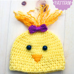 Crochet Chick Hat ~ Stacey Williams – My Merry Messy Life