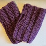 Simple Hand Warmers ~ Liz Ward - Amigurumi Barmy