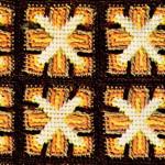 Windmill Afghan ~ Free Vintage Crochet