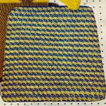 Tweed Chair Seat Cover Pattern ~ Free Vintage Crochet